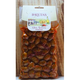 Green Spicy Olives Bretas Vaccum 250gr